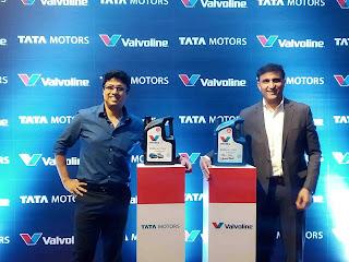 Tata motors does partnership with valvoline Cummins
