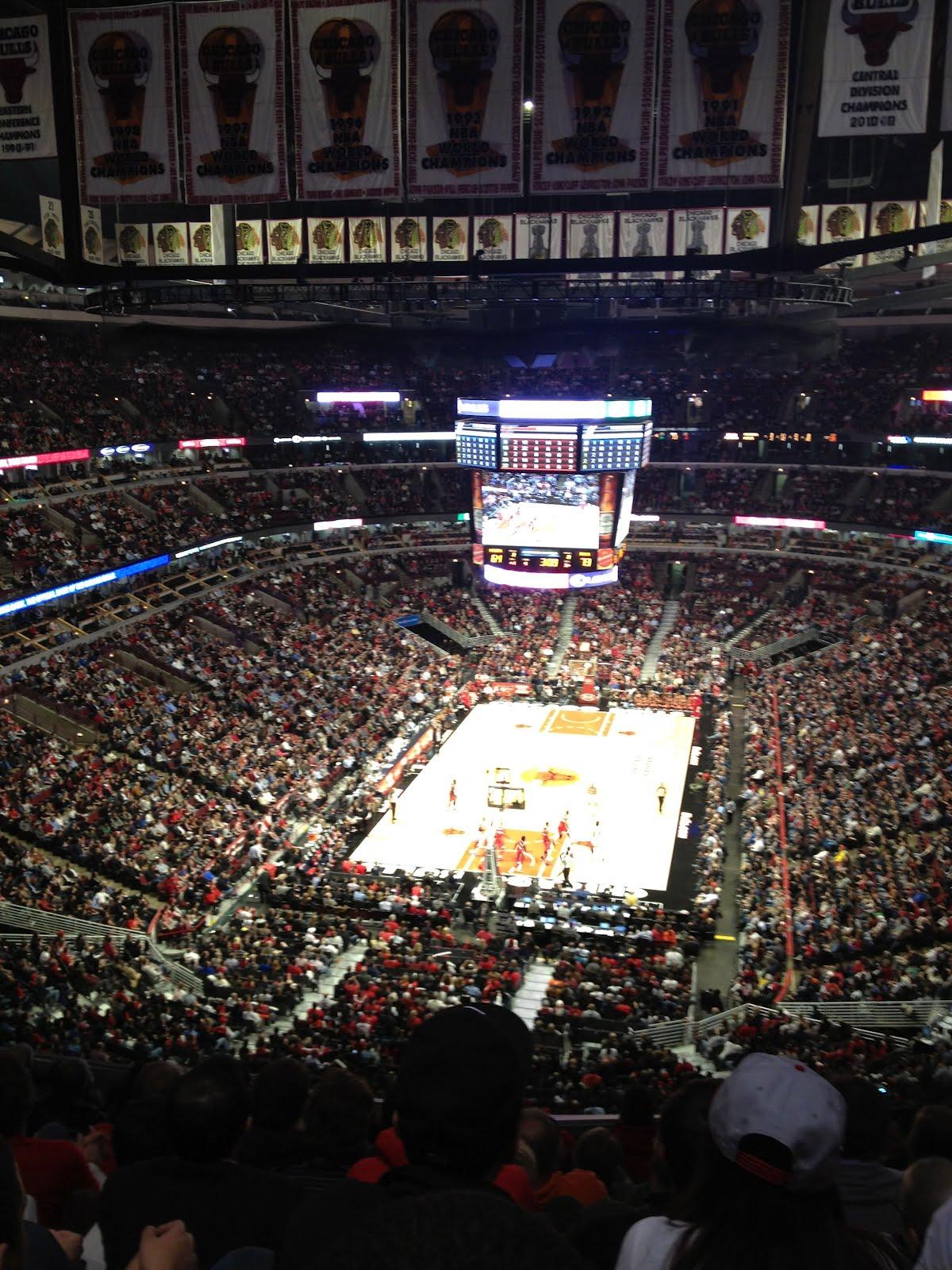 Exterior: 122: United Center -- Chicago Bulls