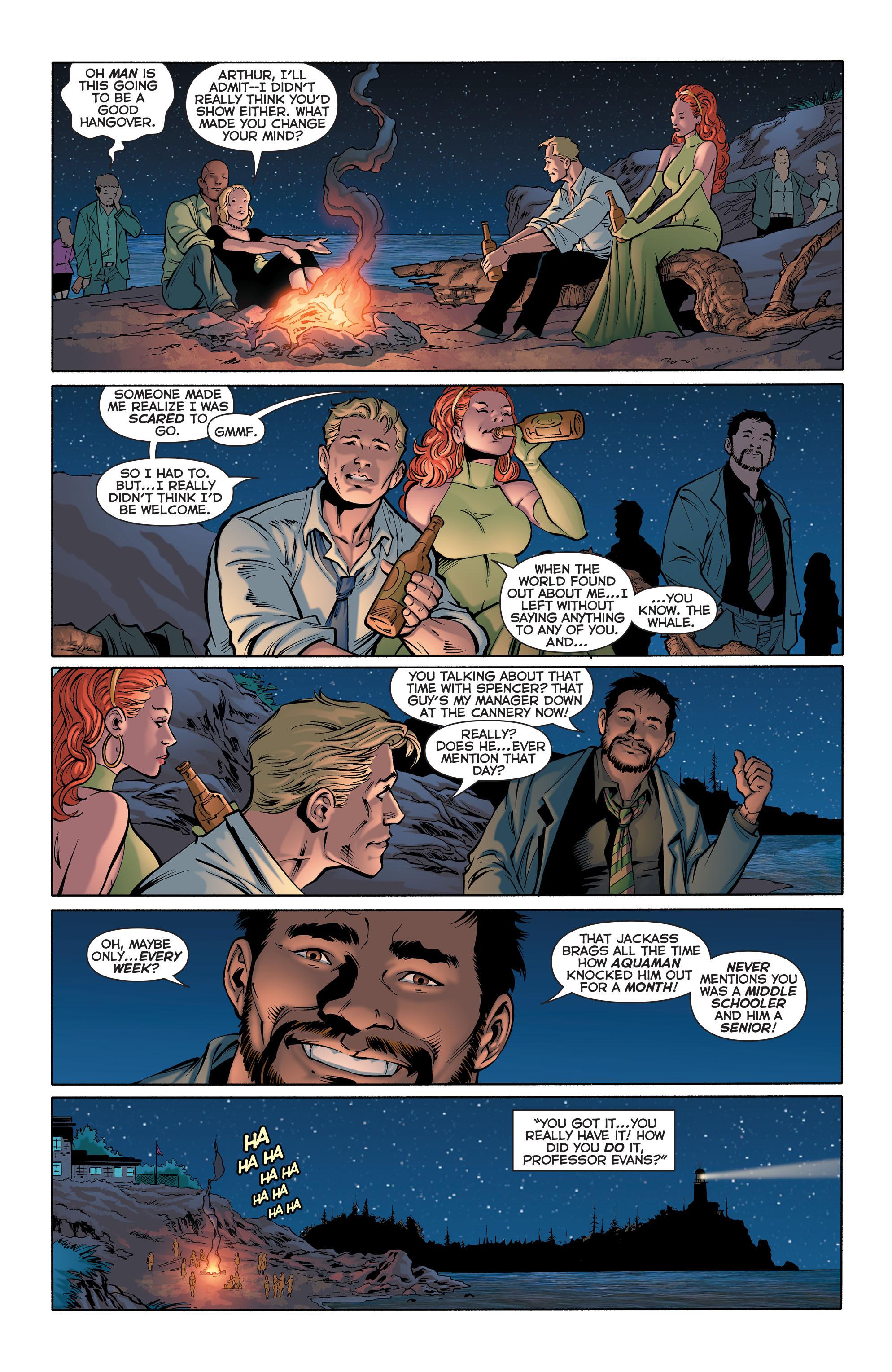Read online Aquaman (2011) comic -  Issue #28 - 21