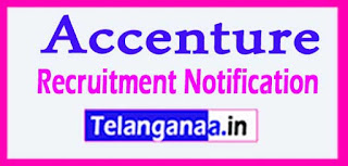 Accenture Recruitment 2017 Jobs For Freshers Apply