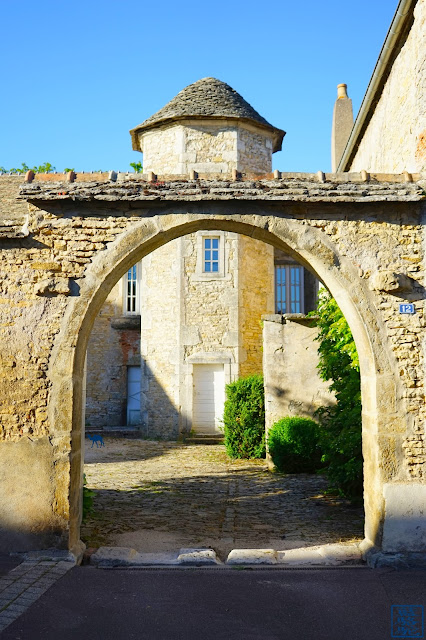 Le Chameau Bleu -  Rues de Santenay