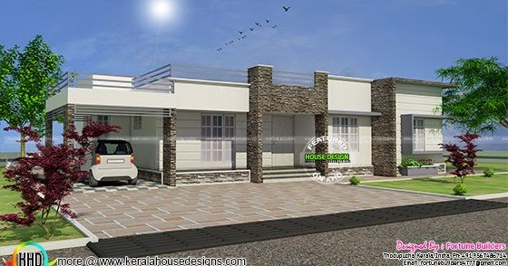 Kerala Home Design And Floor Plans 20 Lakhs House In 1400 Sq Ft