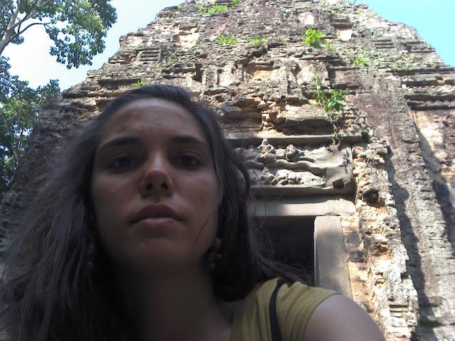 Templos de templos de Sambor Prei Kuk en Kompong Thom, Camboya