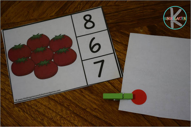 self correcting counting clip cards