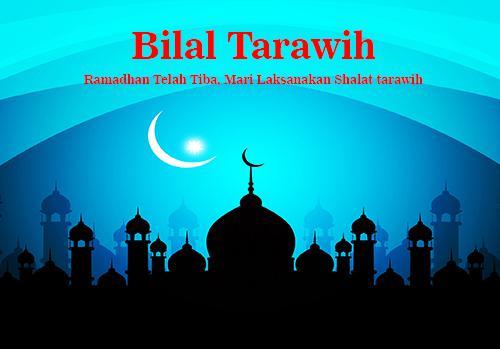 Bacaan Bilal Tarawih