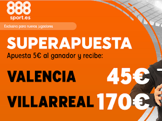 888sport superapuesta Europa League Valencia vs Villareal 18 abril 2019
