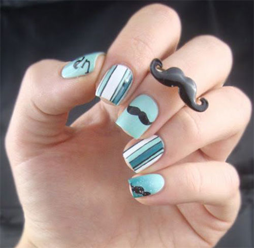 ustache nails