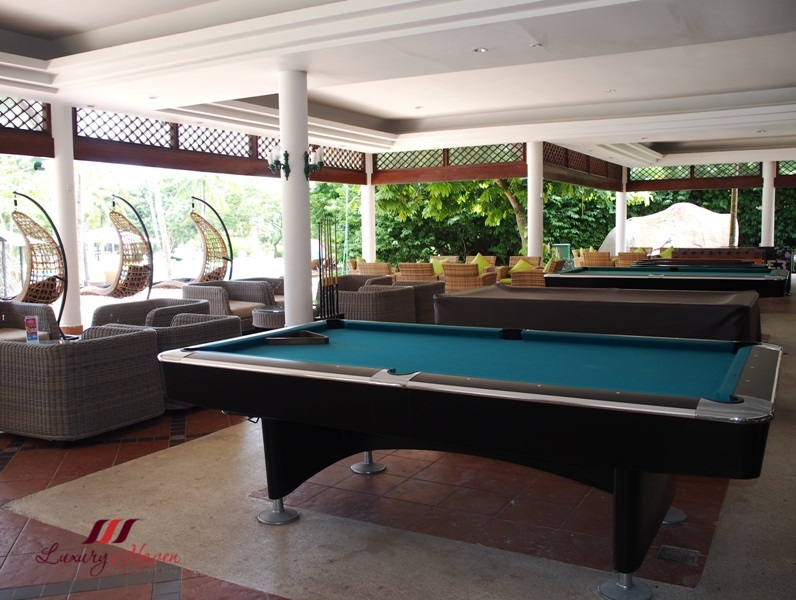 bintan lagoon resort leisure center billard snooker