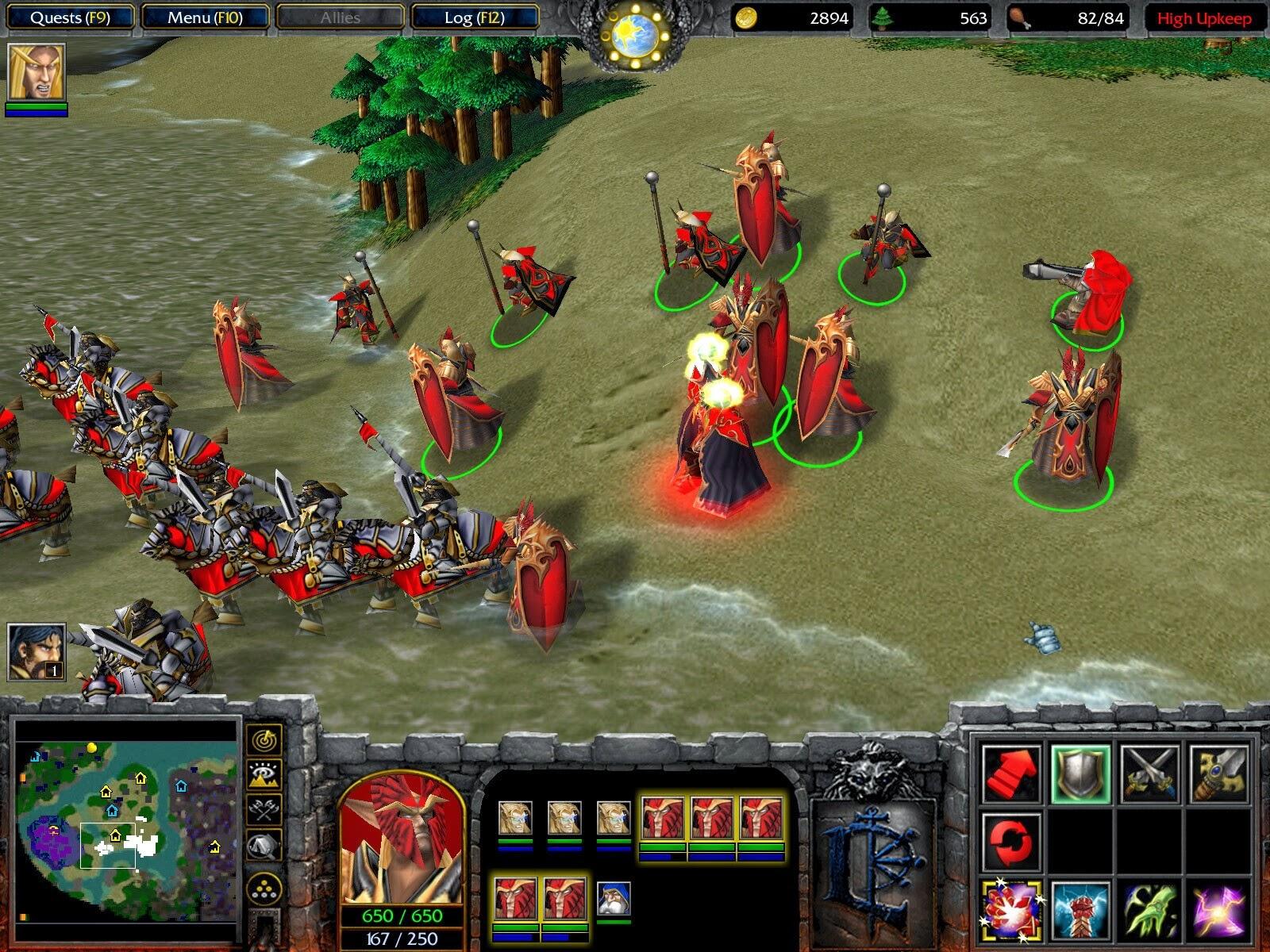 Warcraft 3 Frozen Throne Screenshot