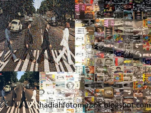 Foto unik online The Beatles Abbey Road