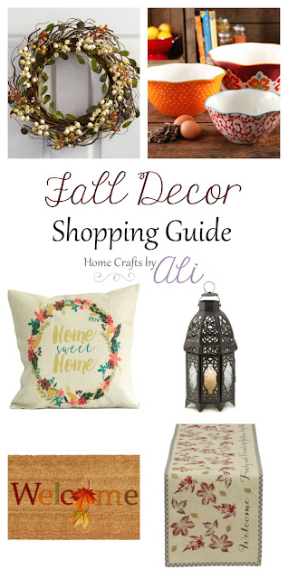 fall decor shopping indoor outdoor decorations kitchen living area