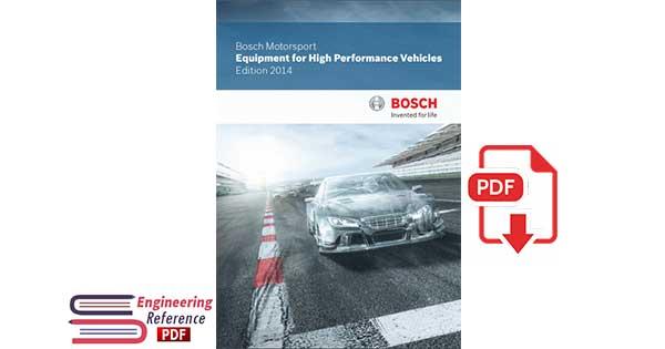 Bosch Motorsport Equipment for High Performance Vehicles Edition 2014