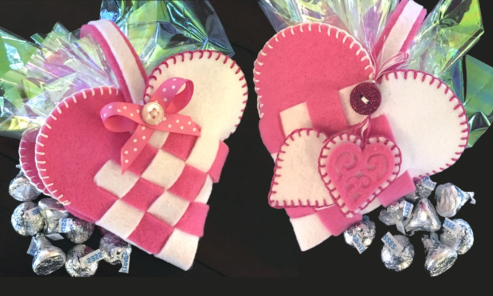Life in the Craft Lane: Valentine\'s Day Pocket Heart for Chocolate ...