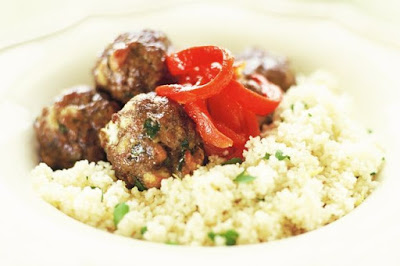 Lamb Recipes Meatballs with couscous
