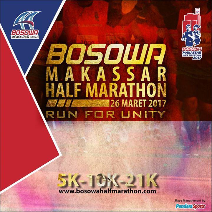Bosowa Half Marathon • 2017