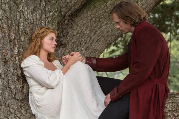 Cena Tarzan filme 2016, Jane (Margot Robbie) vestido branco, figurino