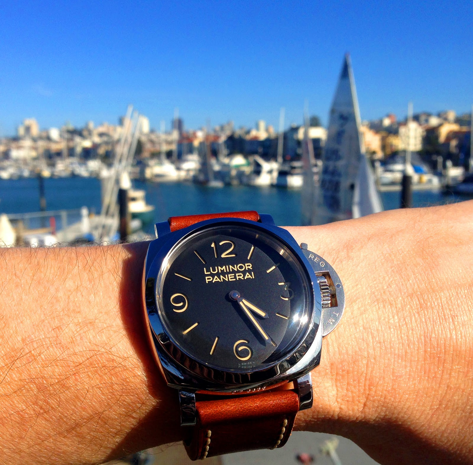 The Panerai PAM 372 is an amazingly cool and desirable watch for many  reasons. First and foremost, because it arguably captures the core-essence  DNA of the ...