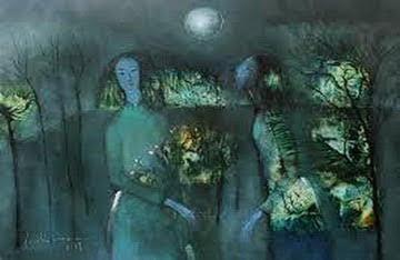 tìnhh Thôn nữ dưới trăng