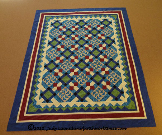 Blueberry Hill Quilt Free Pattern