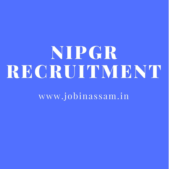 National Institute of Plant Genome Research Recruitment 2017