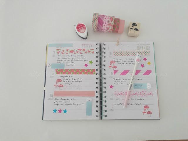 como decorar mi agenda