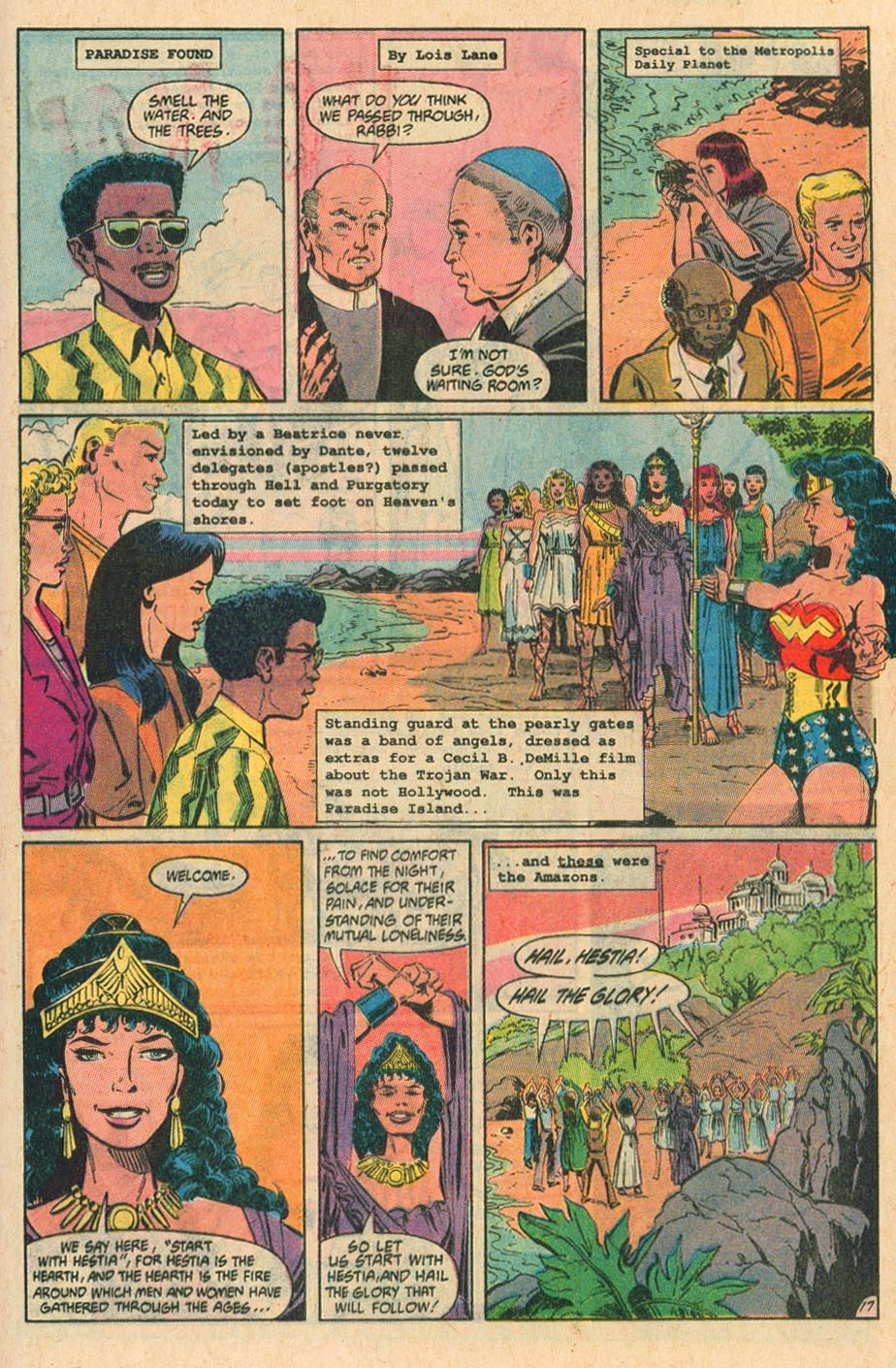 Read online Wonder Woman (1987) comic -  Issue #37 - 19