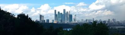 Moscow City desde la Sparrow Hills.