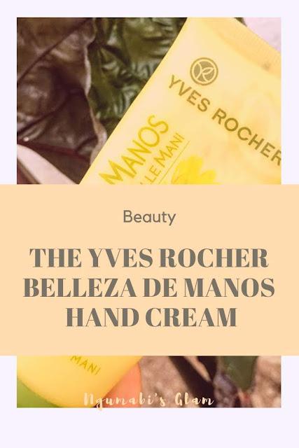 Review || The Yves Rocher Belleza De Manos Hand Cream