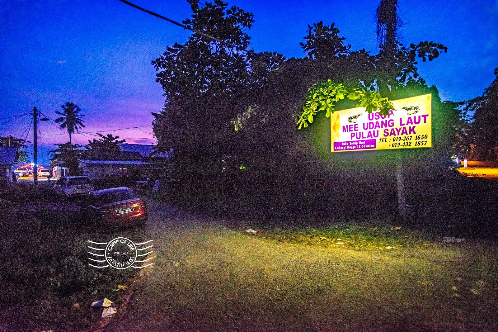 Mee Udang Usop @ Pulau Sayak, Kota Kuala Muda, Kedah
