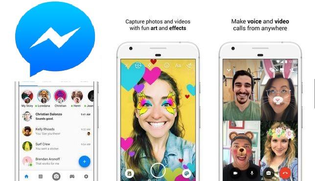شرح وتحميل تطبيق ماسنجر فيس بوك Messenger 2019 | قوقل بلاي & APK