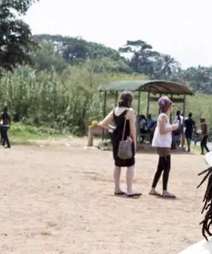 8 year old kissing girls uganda lesbianism
