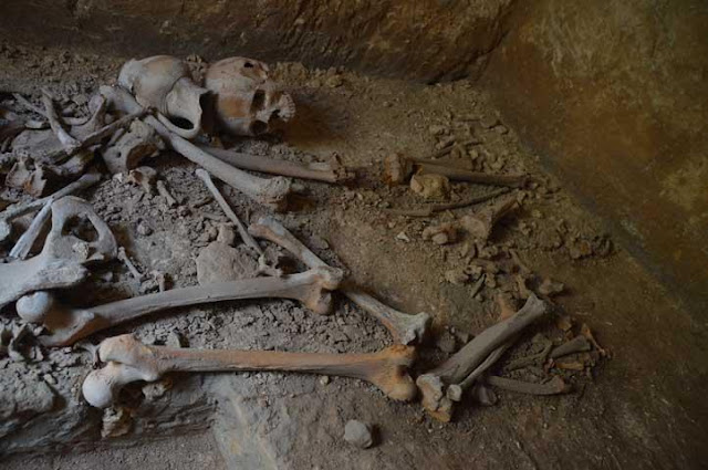 Roman catacombs discovered in Malta's Rabat