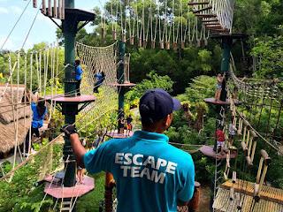 penang escape theme park, pulau pinang, escape park