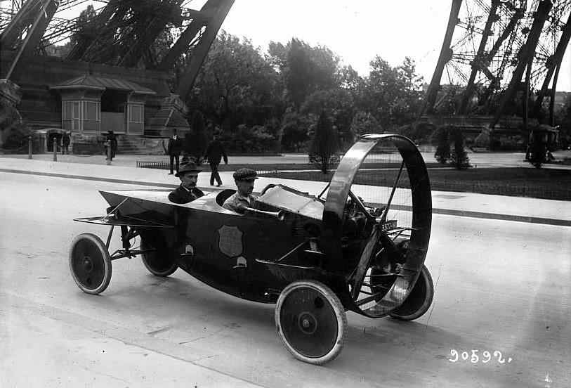Propeller Driven Car C 1910s 1920s Vintage Everyday
