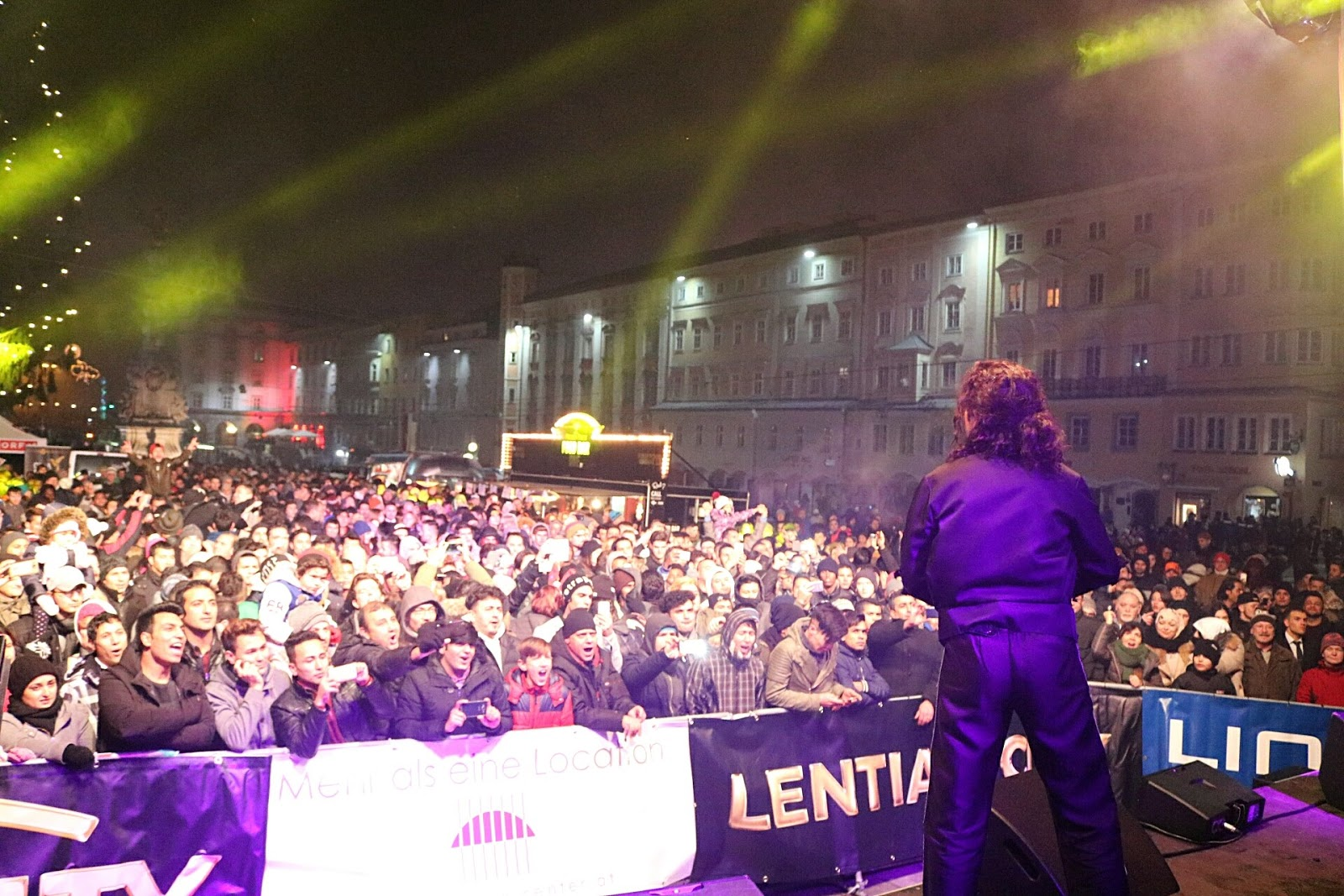 Delfim Miranda - Michael Jackson Tribute - Bad - Live in Autria - New Years Eve Show