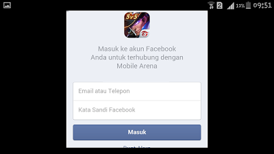 Tutorial Bermain 2 Akun Game Mobile Arena di Android