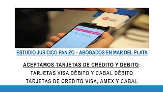 abogados tarjeta de crédito