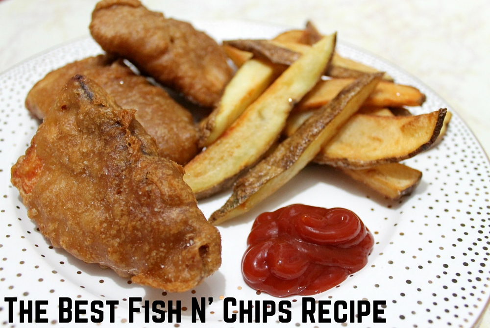 The berger bungalow st patty s dinner series fish n for Fish chips recipe