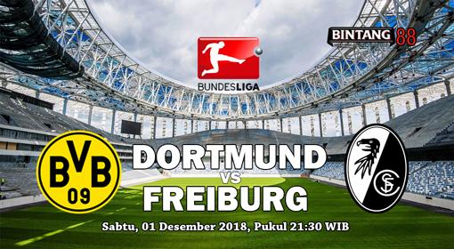 Prediksi Borussia Dortmund Vs Freiburg 1 Desember 2018