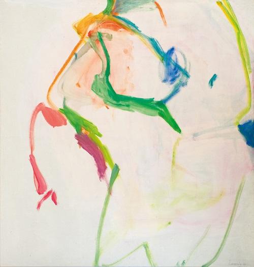 by Maria Lassnig - Grande figurazione di canederli - 1961-62