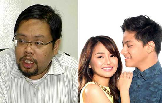 'KathNiel' do their Celebrity Selfie with their 'Ballots'