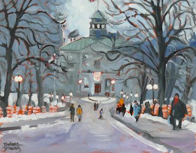 Darlene Young Canadian Artist 585 Mcgill University