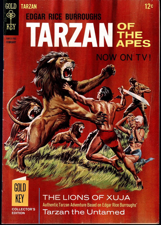 Tarzan (1962) issue 164 - Page 1