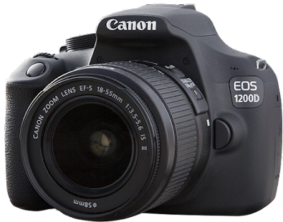 entry level Canon cameras canon eos 1200d