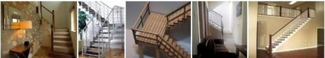 2. Model tangga berbelok huruf L