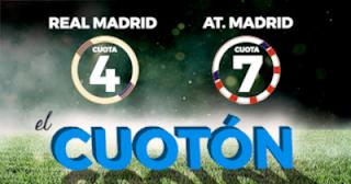 Paston Megacuota Real Madrid vs Atletico 29 septiembre