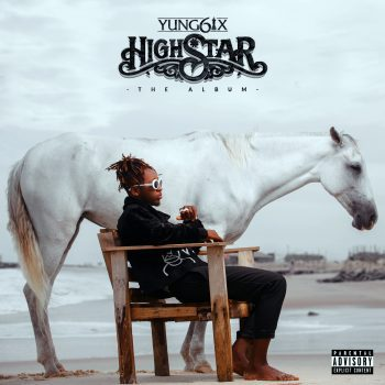 "Yung6ix Album Art ""High Star"""