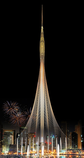 Torre Dubai Creek santiago calatrava