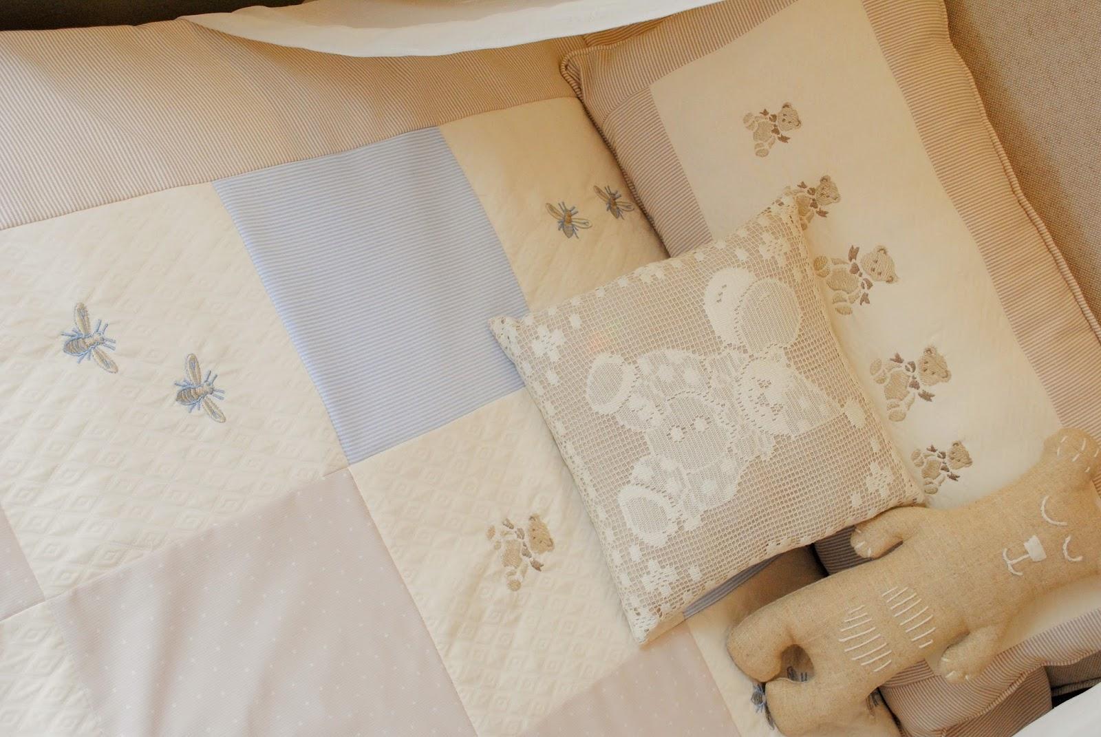 Paz montealegre decoraci n juegos de cuna con protectores - Juego de cama para cuna ...
