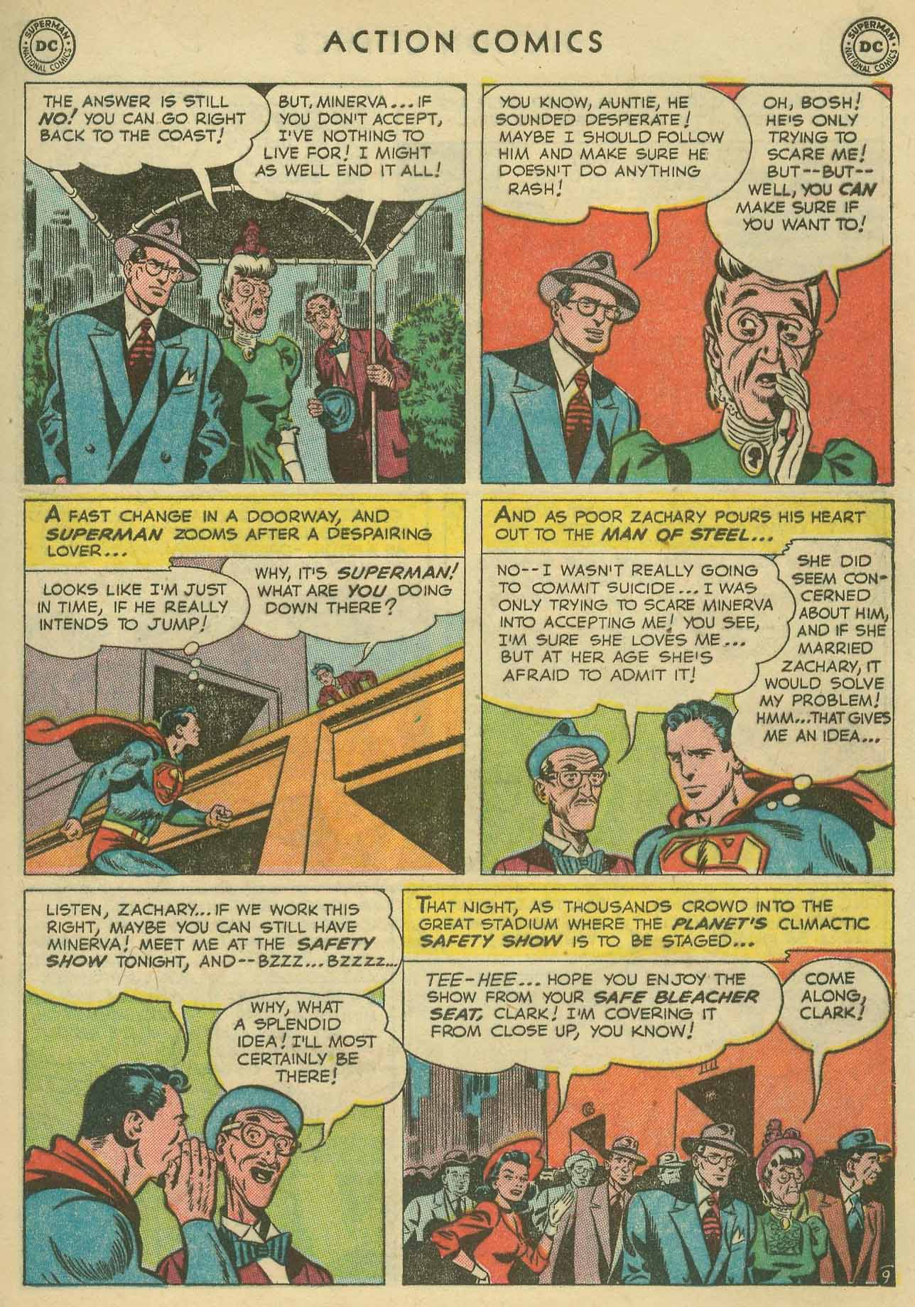Action Comics (1938) 160 Page 10